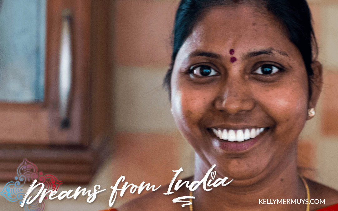 "Kavitha (age 30) : ""I want to give my children a good future and a good education…"""